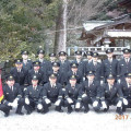 2017年1月9日(月・祝) 平成29年松ヶ崎消防分団出初式が執り行われました。