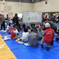2017年10月9日(月・祝)松ヶ崎学区の総合防災訓練が執り行われました。