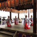 2017年10月29日(日)松ヶ崎の氏神さん新宮神社の秋の例大祭が執り行われました。