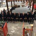 2018年1月元旦 松ヶ崎の氏神さん新宮神社で歳旦祭が執り行われました。