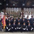 2018年1月8日(月・祝)松ヶ崎消防分団の出初式が厳かに執り行われました。