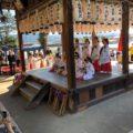2018年10月28日(日)松ヶ崎の氏神さん新宮神社の秋の例大祭が執り行われました。