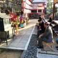 2019年1月元旦 松ヶ崎の氏神さん新宮神社で歳旦祭が斎行されました。