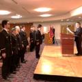 令和2年松ケ崎学区消防分団出初式が執り行われました