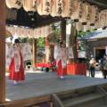 2020年10月25日(日)松ケ崎の氏神さん新宮神社秋の例大祭はコロナ禍のため祭祀だけが午前10時から粛々と執り行われました。