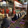 2021年元旦 松ケ崎の氏神さん新宮神社で午前8時 年の初めの歳旦祭が斎行されました。